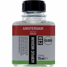 Royal Talens - Amsterdam acrylic medium GLOSSY 75 ml