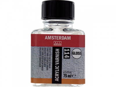 Royal Talens - Amsterdam acryl varnish GLOSS, závěrečný lak, 75 ml