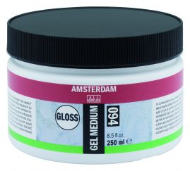 Royal Talens - Amsterdam acrylic gel medium GLOSS, 250ml