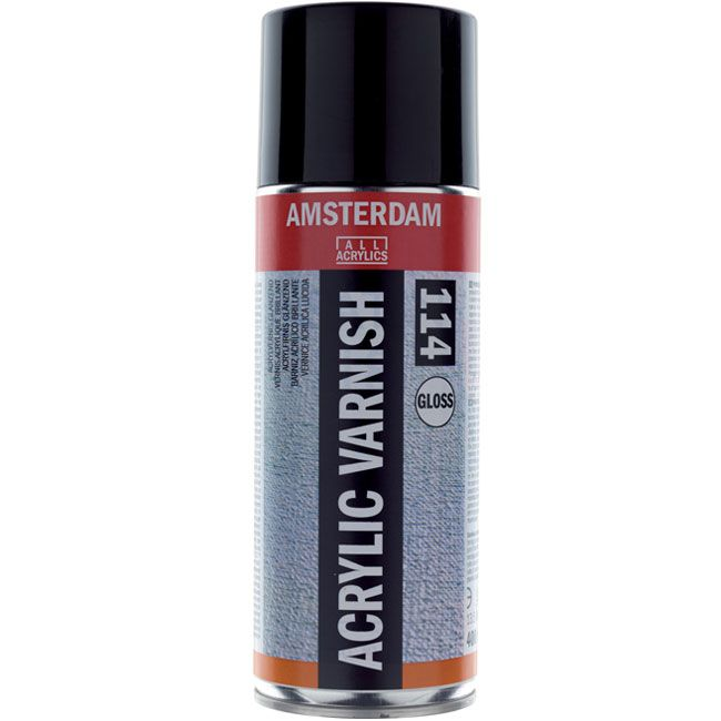 Royal Talens - Amsterdam acryic varnish GLOSS,  400ml spray