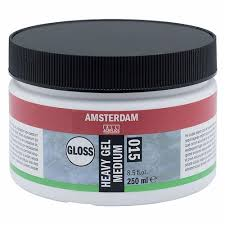 Royal Talens - Amsterdam heavy gel medium GLOSS 250ml