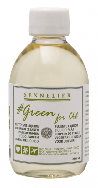 Sennelier, Green for Oil, čistič štětců, 100ml